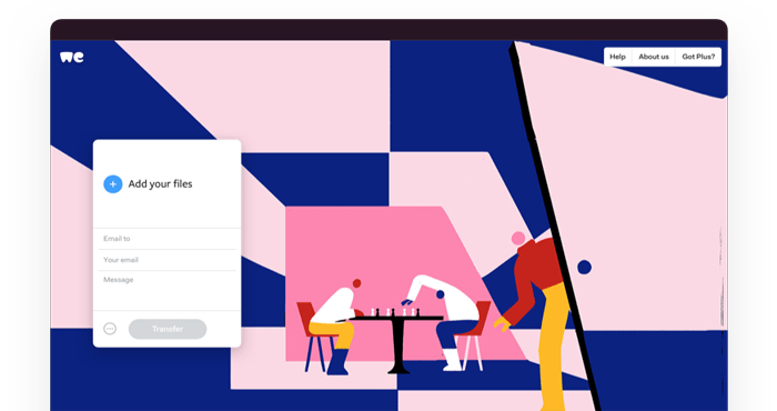 Free apps for Mac, iOS and Android | WeTransfer Apps